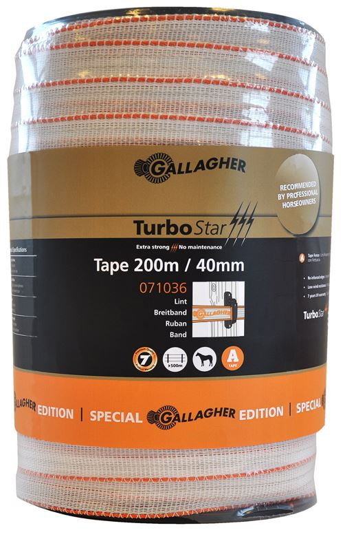 TURBOSTAR LINT 40MM SPECIAL EDITION WIT ROL 200M
